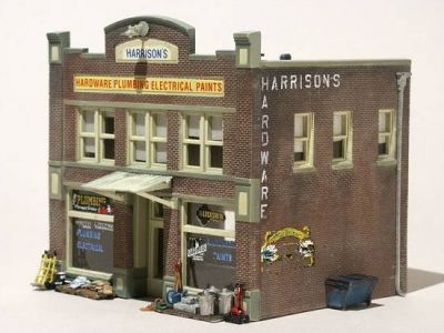 Woodland Scenics HO Harrison's Hardware just arrived!